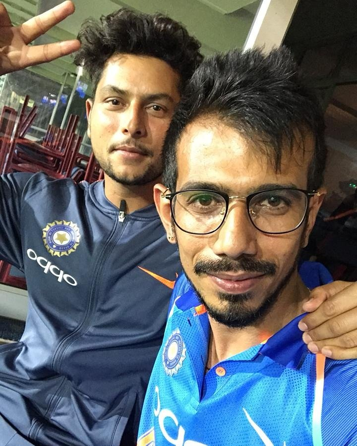 Yuzvendra Chahal and Kuldeep Yadav display bromance on Valentine's Day