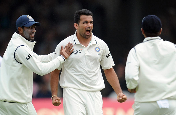Zaheer Khan was wonderful in swinging and seaming conditions in England | Getty