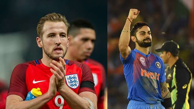 Virat Kohli wishes luck to Harry Kane as he embarks on World Cup 2018 journey with England