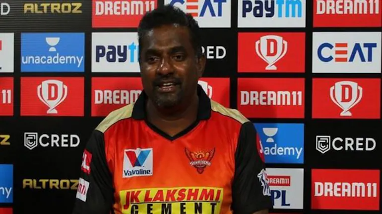 Muttiah Muralitharan joined SRH in 2015 | BCCI/IPL