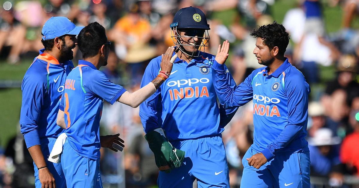 Chahal and Kuldeep have benefited from Dhoni's presence behind the stumps   Getty