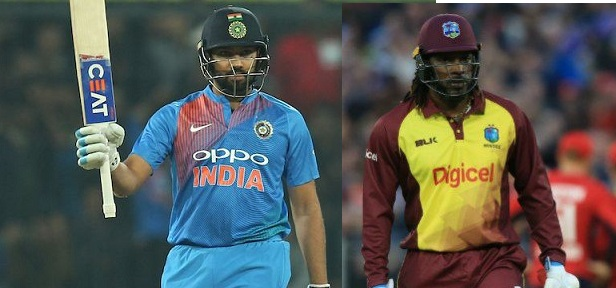Rohit Sharma and Chris Gayle - Two of the greatest openers in the format
