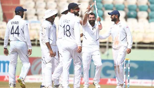 India defeated South Africa by 203 runs in the Test series opener | AFP