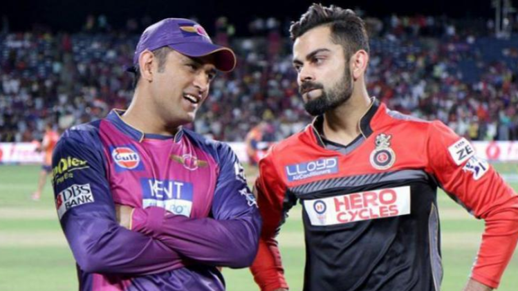 Watch: MS Dhoni and Virat Kohli had a chat before IPL 2018