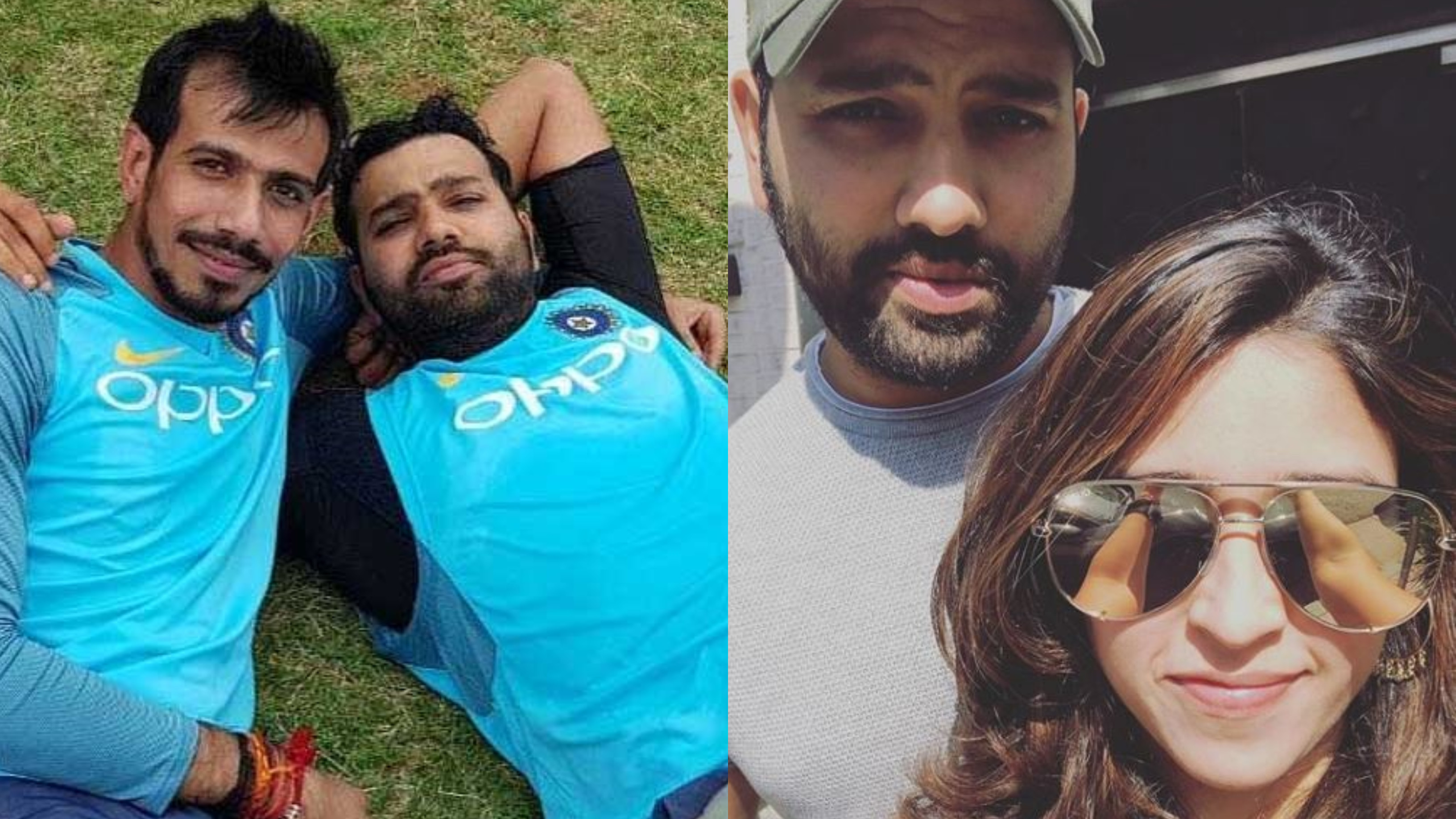Ritika Sajdeh teases Chahal and asks him to observe karwa chauth for Rohit Sharma with her