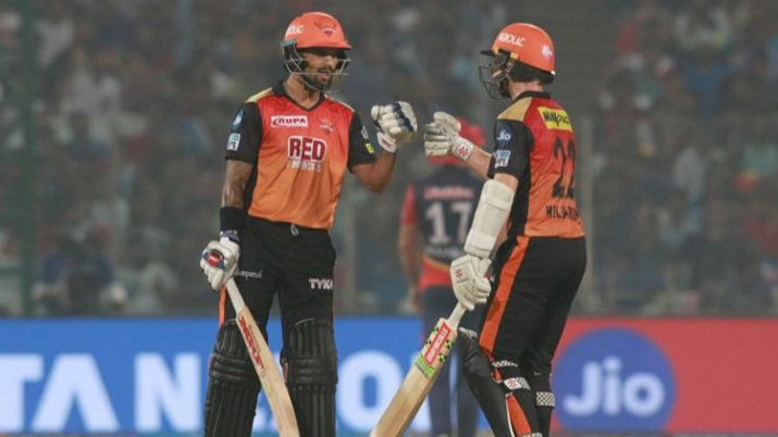 IPL 2018 : Match 42 , DD vs SRH - Statistical Highlights