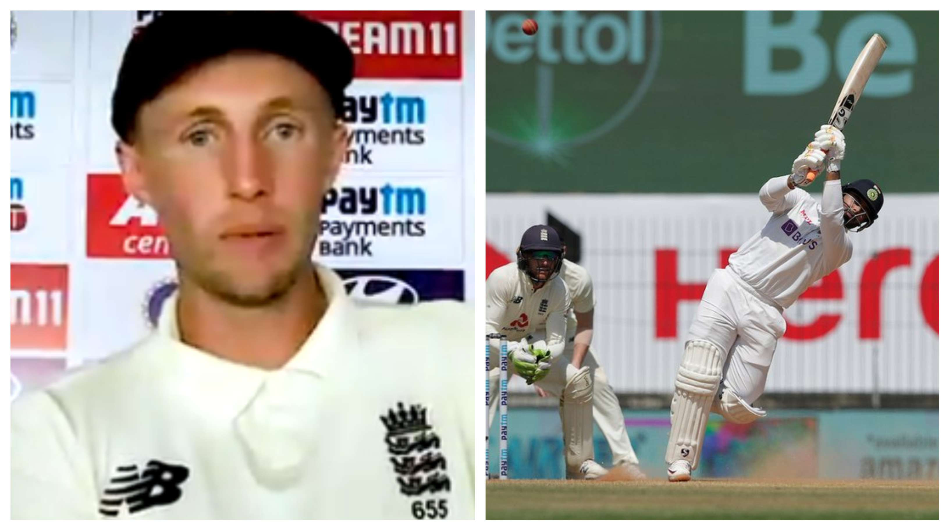 IND v ENG 2021: Joe Root admits Rishabh Pant factor forced visitors to not declare their second innings