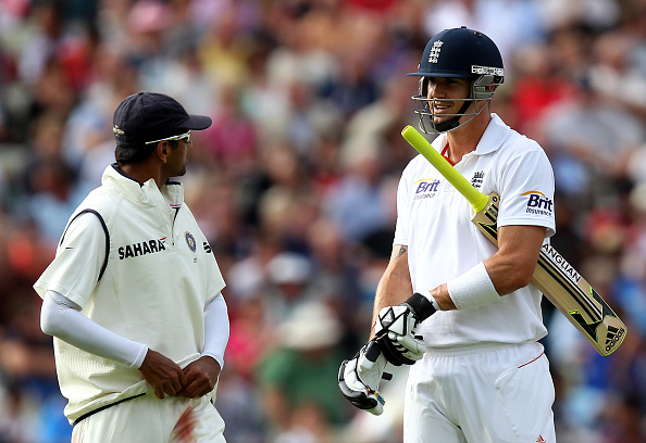 Kevin Pietersen and Rahul Dravid | Getty