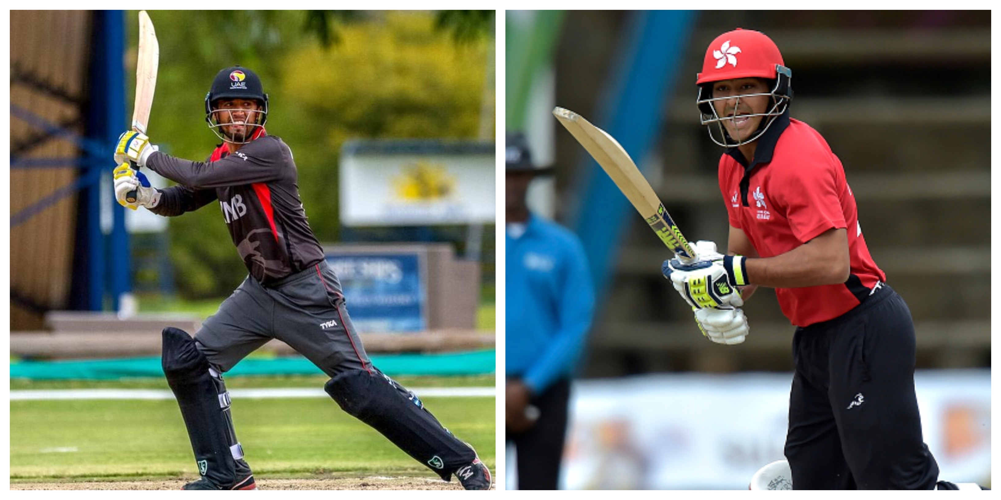 Rohan Mustafa for UAE and Anshuman Rath for Hong Kong played match winning knocks.