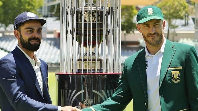 SA vs IND 2018: Teams join hands to donate for Cape Town Water Crisis