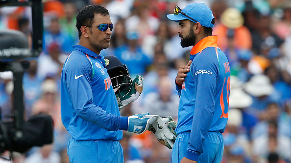 The duo of Virat Kohli and MS Dhoni gets lauded for guiding the youngsters