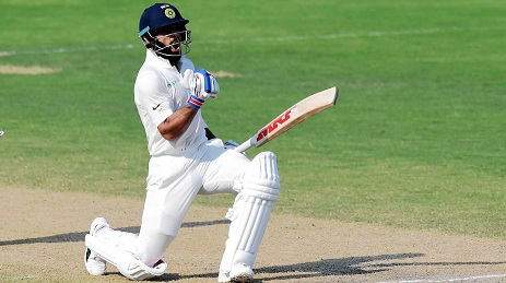 Virat Kohli chosen as the Captain of the ICC Test team of the year in 2017 at ICC Awards 2017