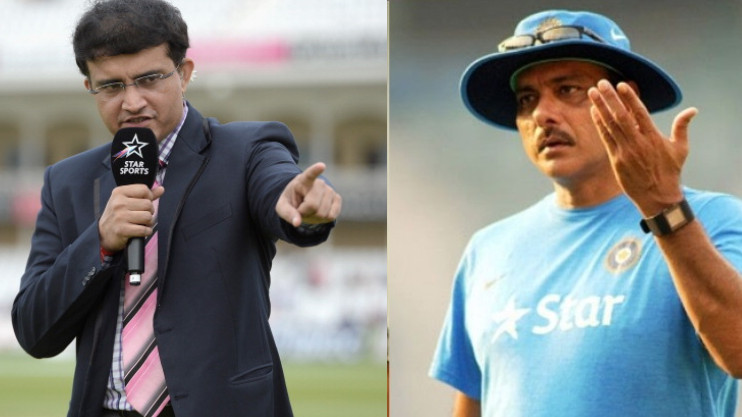 Sourav Ganguly asks Ravi Shastri to take a back seat and let captain pick the team