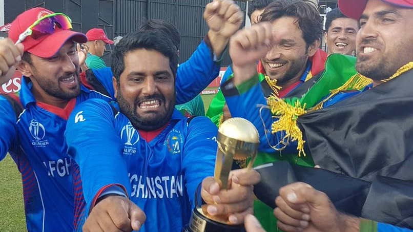 Cricket fraternity lauds Afghanistan as they qualify for the 2019 ICC World Cup in England