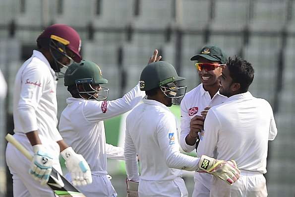 West Indies whitewashed in the Test series by Bangladesh | Getty Images