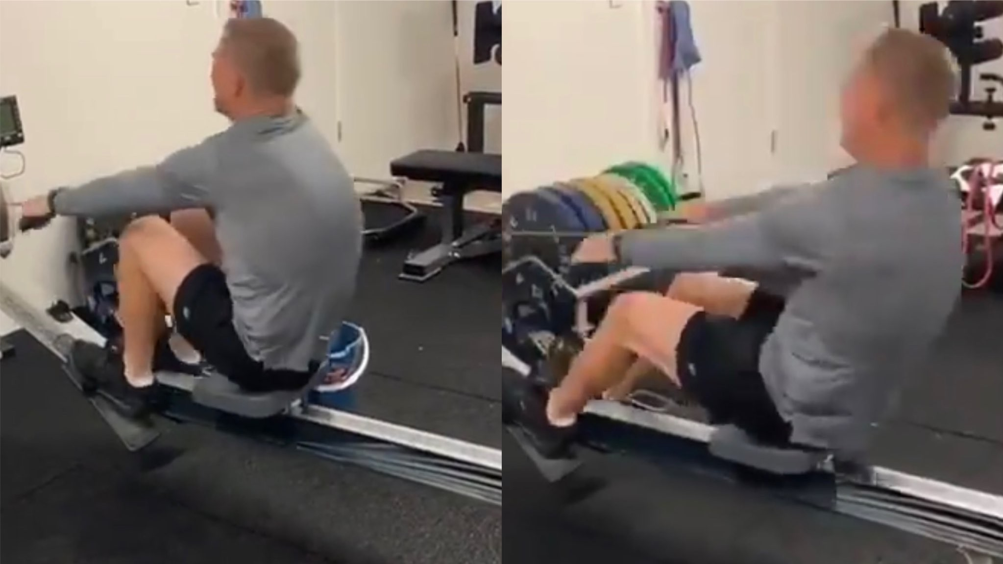 WATCH - David Warner takes his fitness to the next level