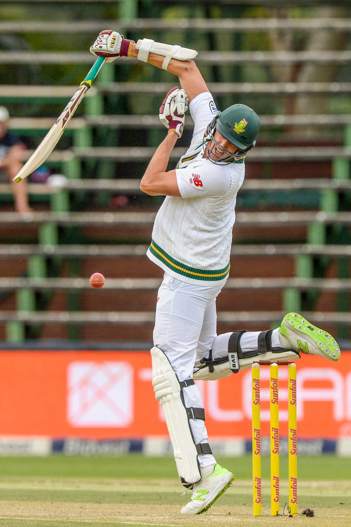 Morne Morkel takes evasive action | Getty