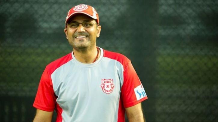 वीरेंद्र सहवाग ने किंग्स XI पंजाब में कीपिंग की भूमिका के लिए दिए ये दो विकल्प