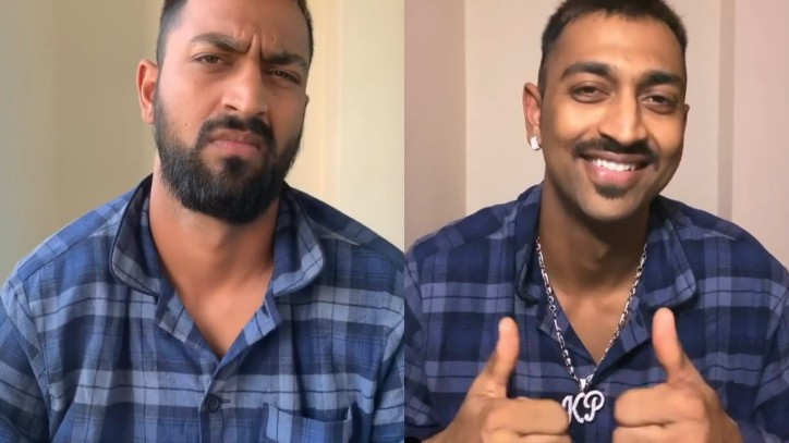 IPL 2020: WATCH - Krunal Pandya takes the famous 'Break The Beard' challenge; shares new look