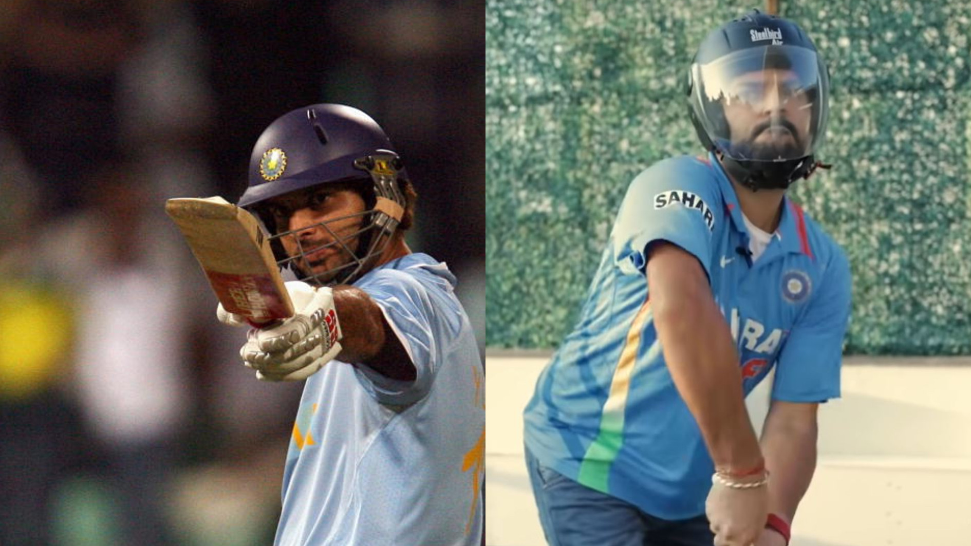WATCH- Yuvraj Singh hilariously recreates his six sixes from 2007 T20 World Cup on his terrace