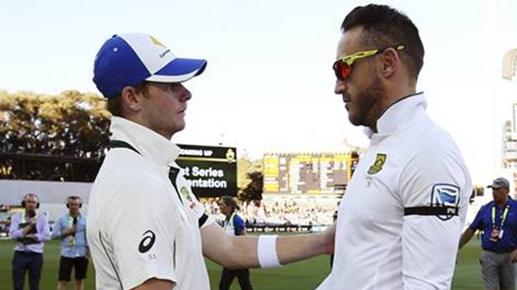 Faf du Plessis has some advice for Steve Smith on coping with ball tampering scandal