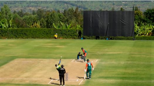Kenya denied the tag of record holders despite amassing the highest T20I score
