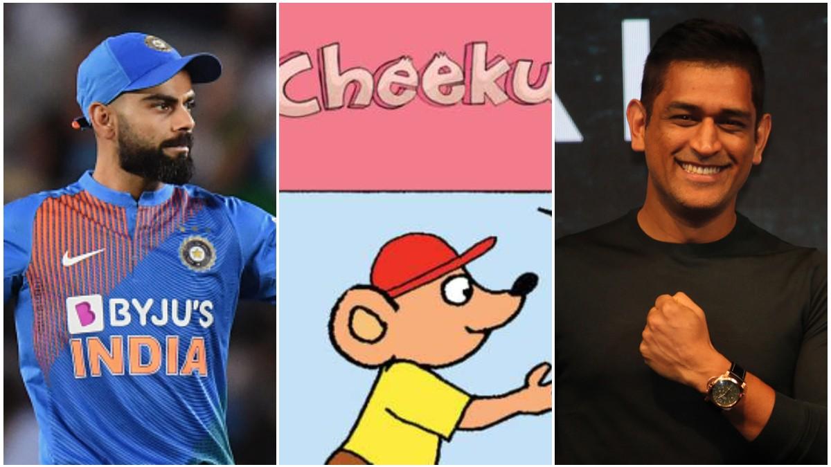 Virat Kohli reveals how he got his nickname 'Cheeku' and how MS Dhoni made it famous