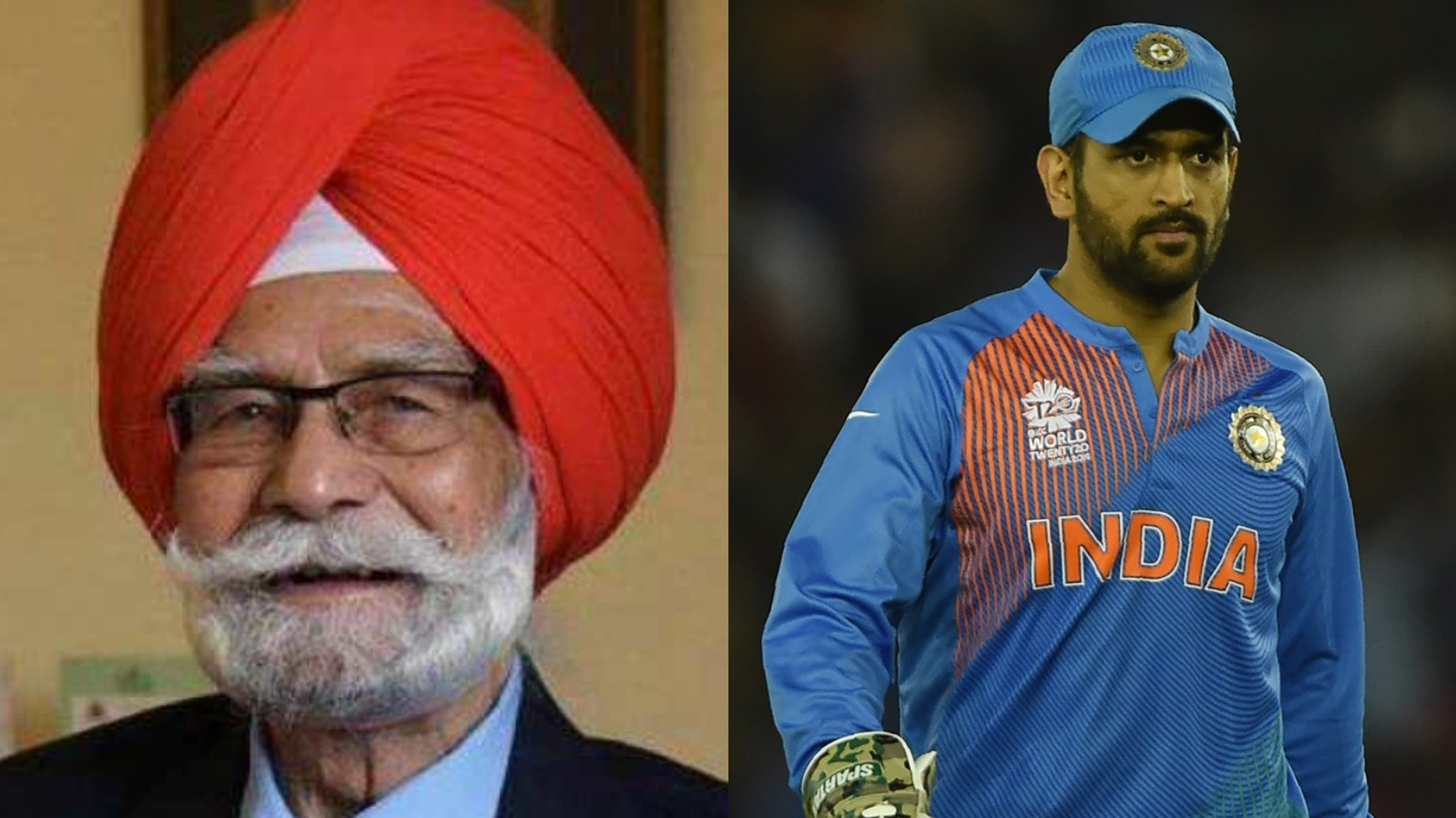 """""""Your victory contributes to my good health,"""" hockey legend Balbir Singh said to MS Dhoni"""