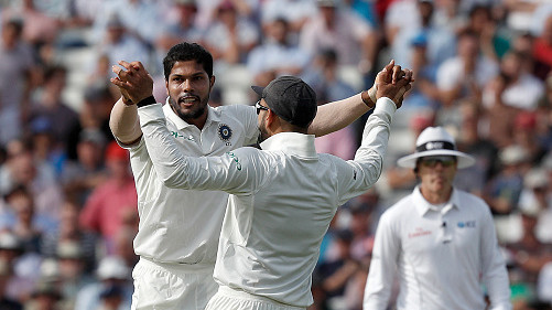 IND v WI 2018: Difficult to restrict run-scoring with the old SG Test ball, says Umesh Yadav
