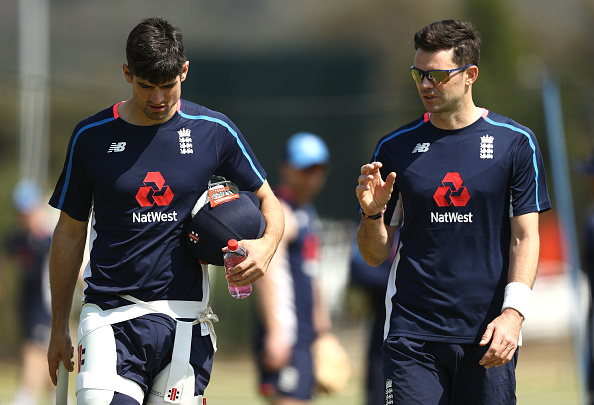 James Anderson and Alastair Cook | Getty
