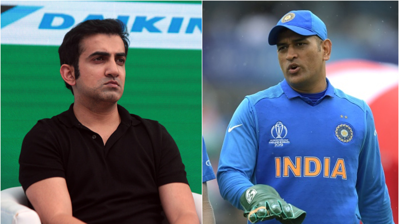Twitterati take jibes at Gautam Gambhir after MS Dhoni gets role of mentor for T20 World Cup