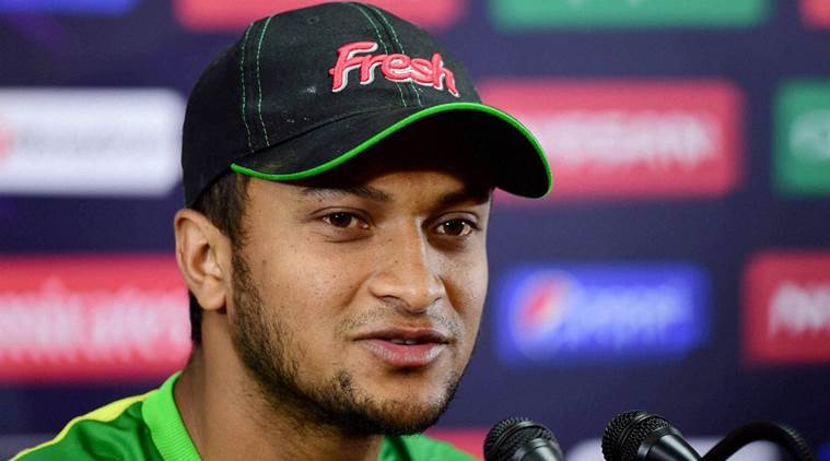 Shakib is back as  Bangladesh Test captain. (AFP)