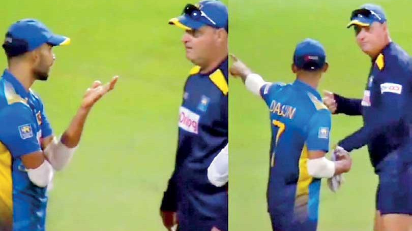 SL v IND 2021: 'There was no heated exchange', Dasun Shanaka breaks silence over his on-field spat with Mickey Arthur