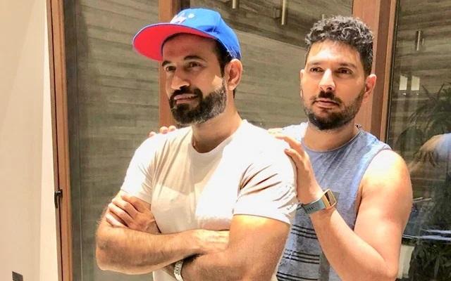 Irfan Pathan and Yuvraj Singh | Instagram