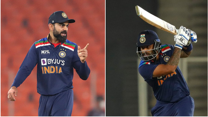 IND v ENG 2021: Suryakumar Yadav says he carried the confidence showed by Virat Kohli to bat at No. 3