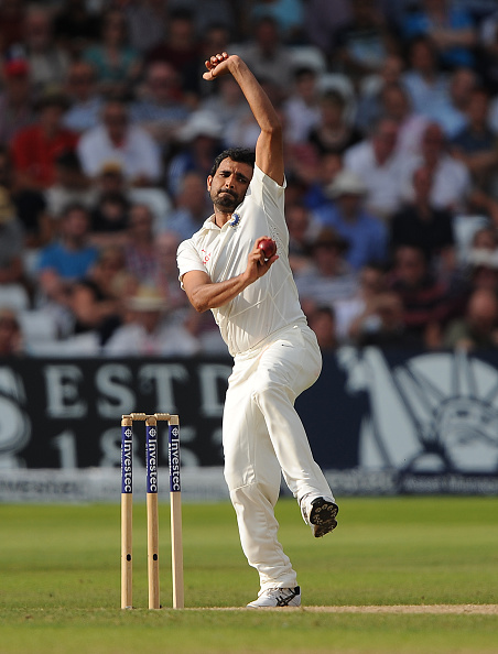 MOHAMMAD SHAMI | Getty