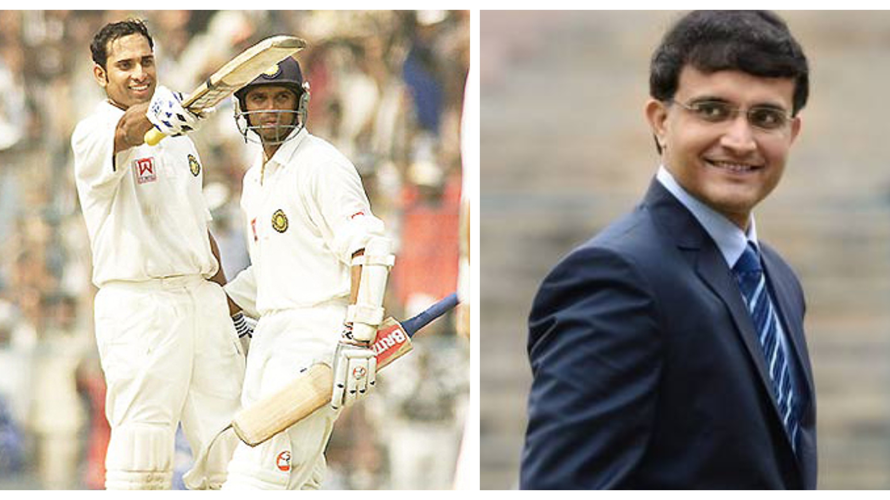 VVS Laxman's 281 saved my career, says Sourav Ganguly
