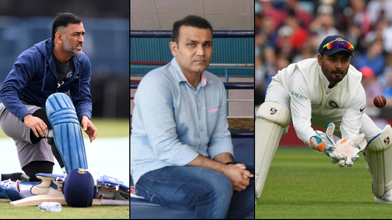 Virender Sehwag opines whether Rishabh Pant good enough to replace MS Dhoni in World Cup 2019?