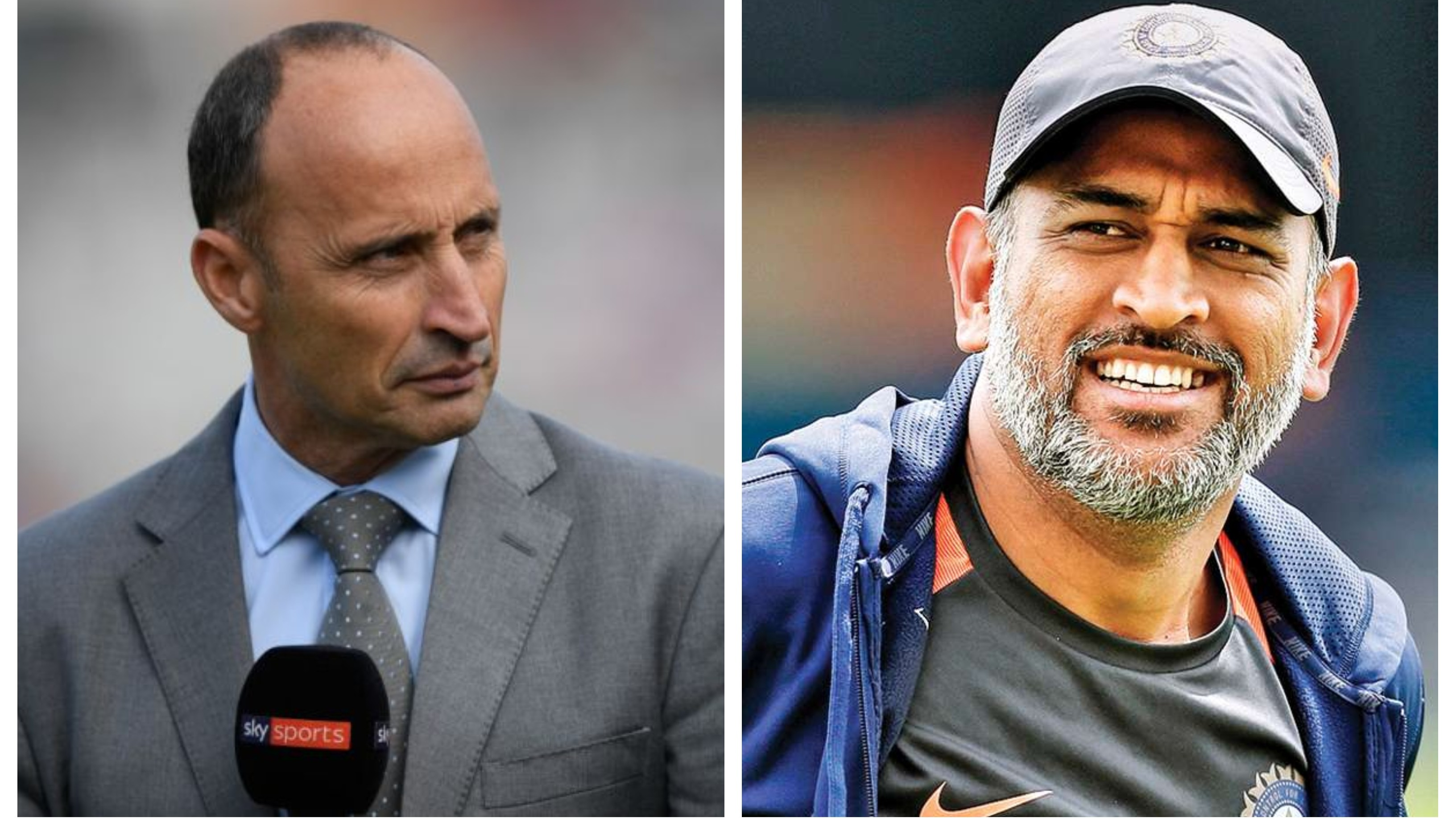 CWC 2019: Nasser Hussain stresses on MS Dhoni's importance to India's World Cup chances