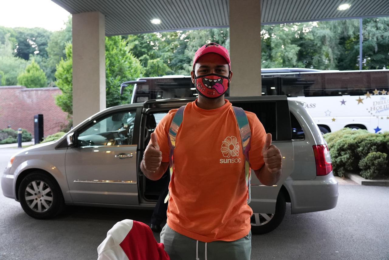Rishabh Pant reached Durham on Wednesday   BCCI