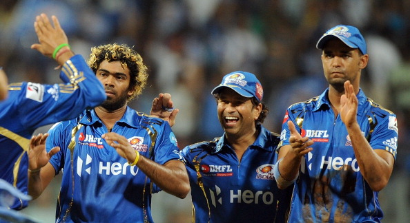 Lasith Malinga and Sachin Tendulkar | GETTY