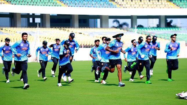 Bangladesh gearing up for Rajkot T20I against India | AFP