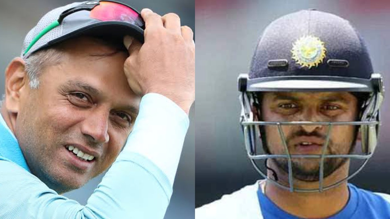 Suresh Raina recalls getting scolded by Rahul Dravid for inappropriate clothing choices