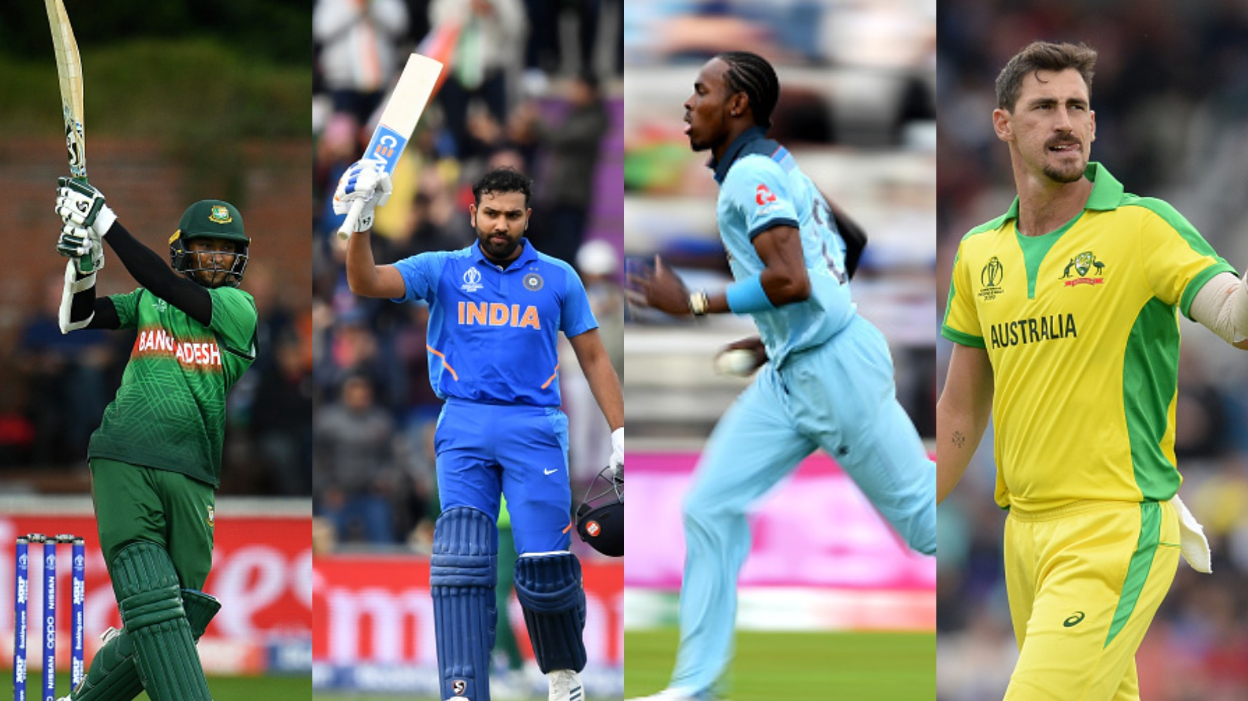CWC 2019: COC mid-tournament XI of the ICC World Cup