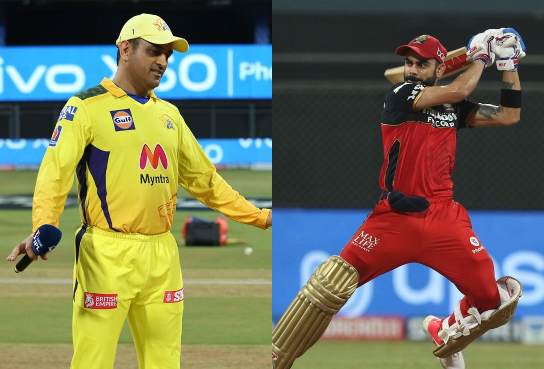 This is a clash of table toppers with no.1 RCB taking on no.2 CSK | BCCI-IPL