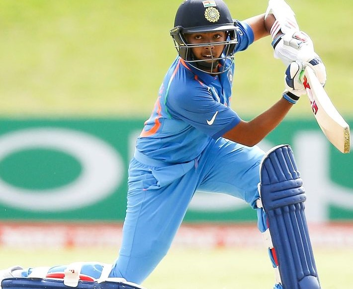 All eyes will be on India U-19 skipper Prithvi Shaw in the high-voltage clash against Pakistan | Getty