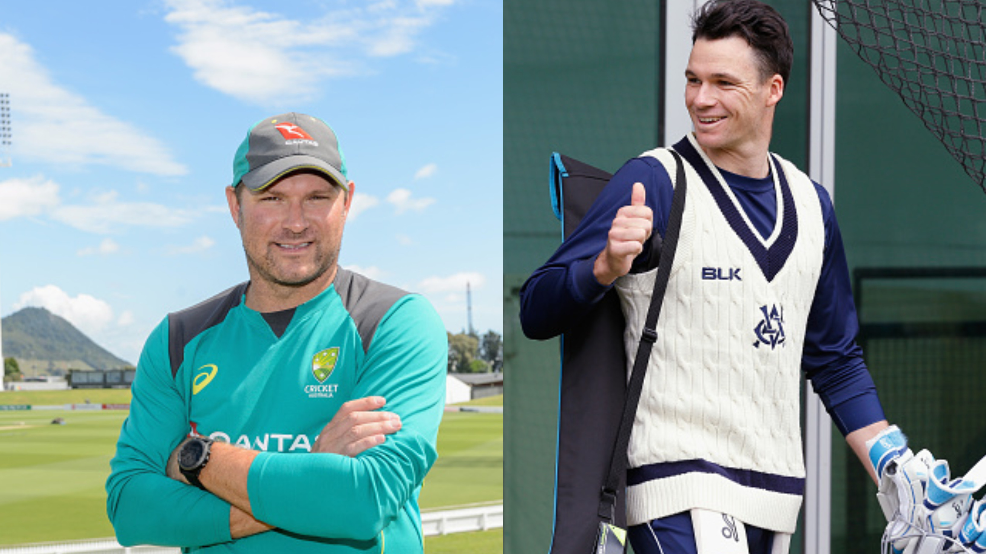 Ryan Harris bats for Peter Handscomb's return to Australian team