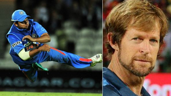 WATCH: Jonty Rhodes picks Suresh Raina as one of his five greatest fielders