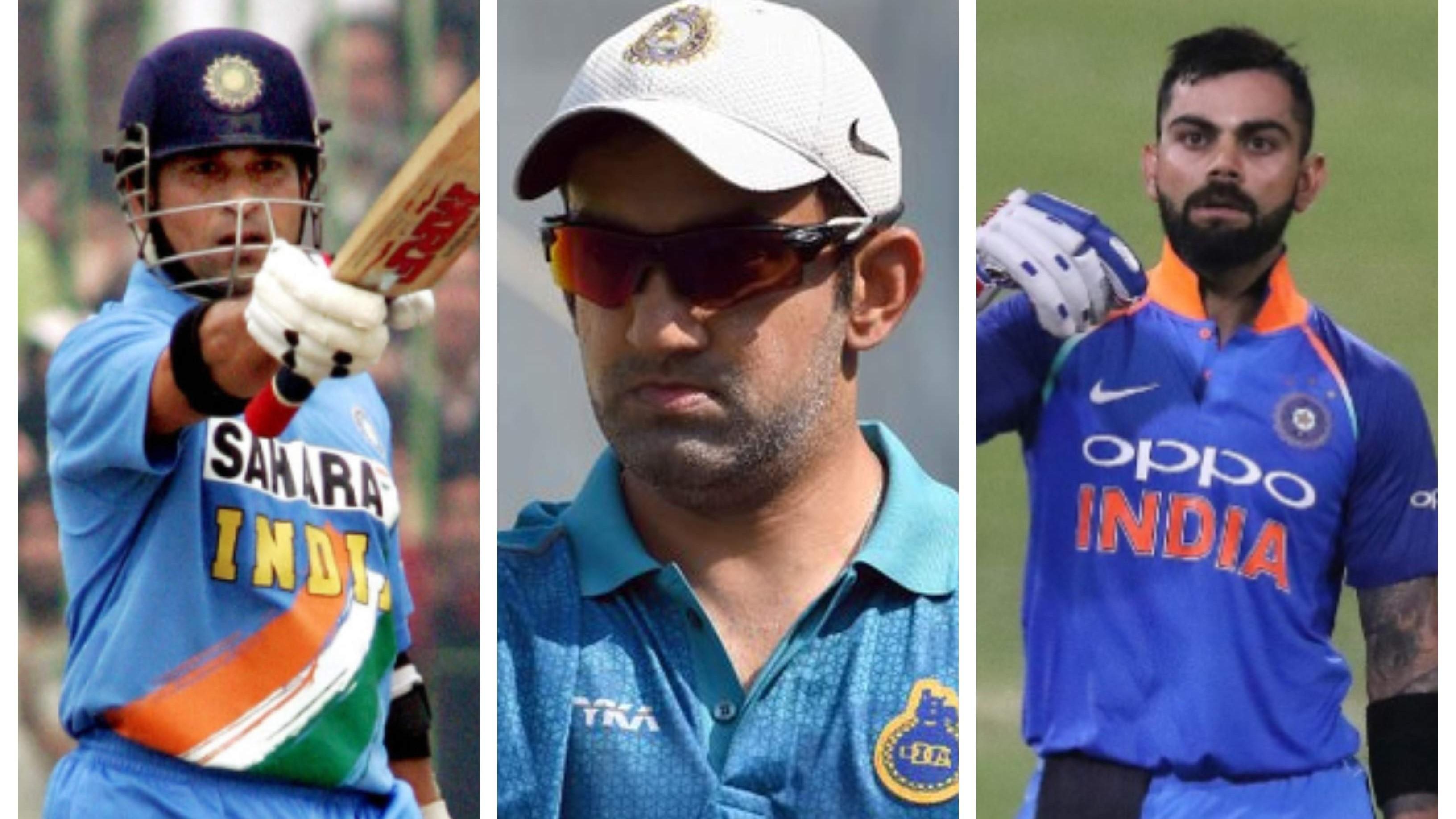 Gambhir picks Sachin Tendulkar over Virat Kohli in ODIs; reveals reasons behind his decision