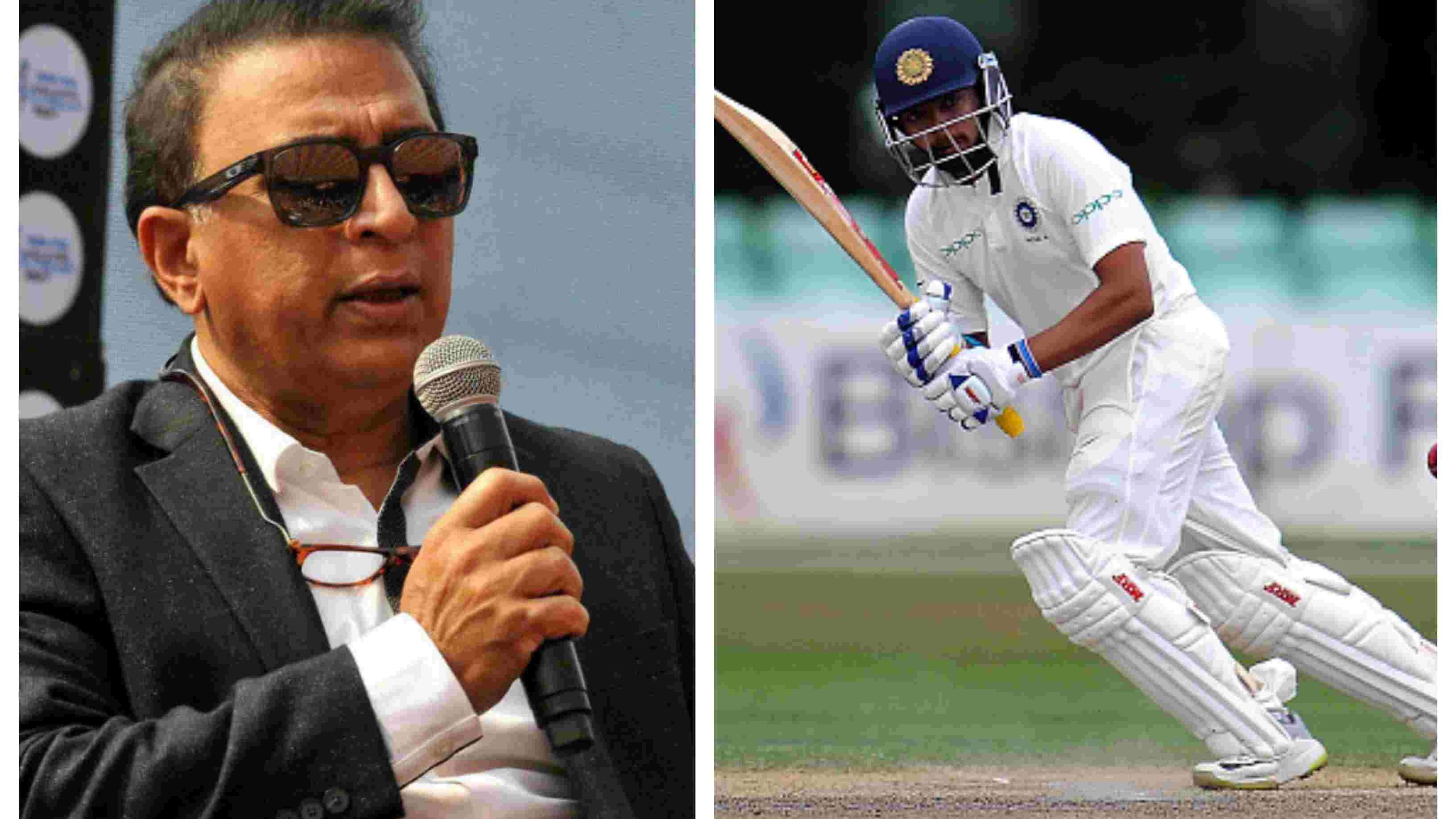 IND v WI 2018: Prithvi Shaw's Test debut will have people on the edge of their seats, says Sunil Gavaskar